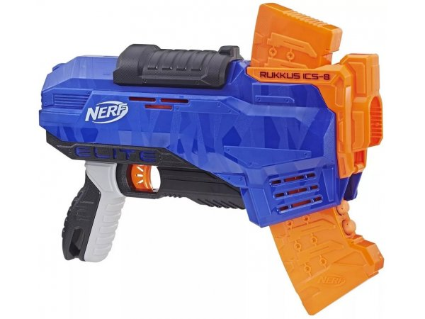 Бластер Nerf N-Strike Elite Rukkus ICS-8 (E2654)