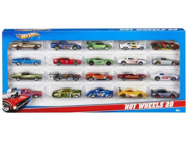 Набор Hot Wheels 20 машинок H7045