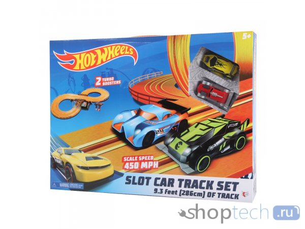 Набор с треком KidzTech Hot Wheels 286см 83105