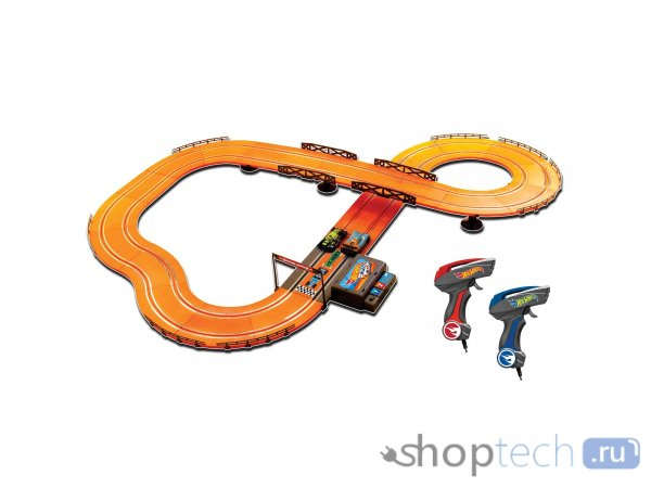 Набор с треком KidzTech Hot Wheels 380см 83107