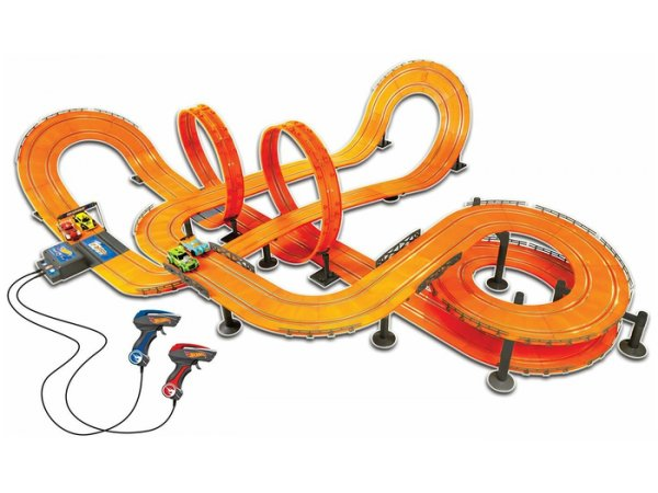 Набор с треком KidzTech Hot Wheels с адаптором 1300см 83139