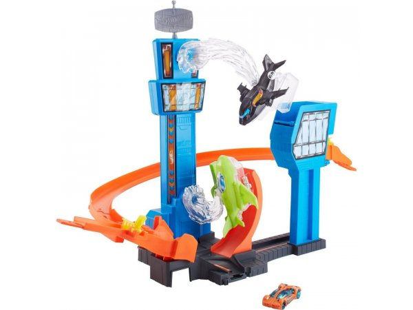 Трек Mattel Hot Wheels Airport Track Set GFH90