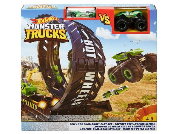 Трек Mattel Hot Wheels Monster Trucks Epic Loop Challenge GKY00