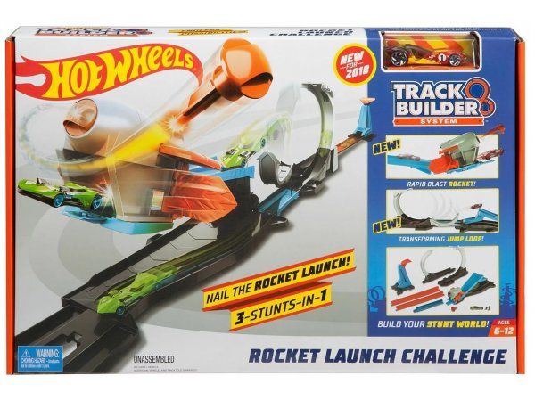 Трек Mattel Hot Wheels Rocket Launch Challenge FLK60