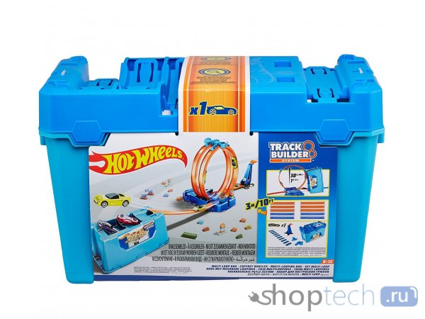 Трек Mattel Hot Wheels Stunt Box FLK89 , FLK90
