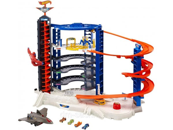 Трек Mattel Hot Wheels Super Ultimate Garage Play Set FML03