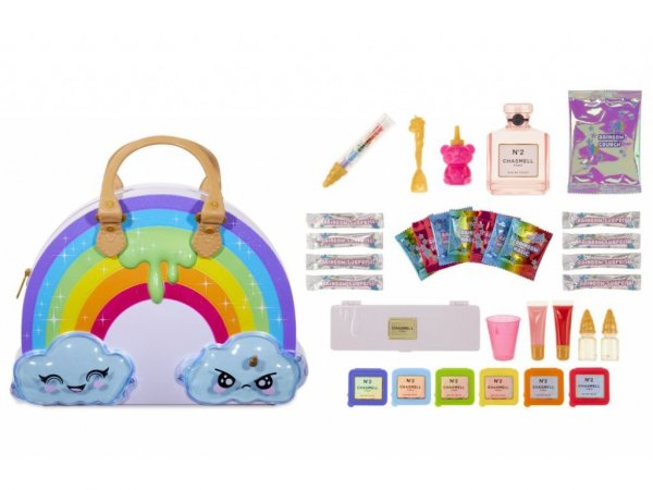 Игровой набор MGA Entertainment Poopsie Chasmell Rainbow Surprise Makeup Пупси Сумка-Радуга Слайм