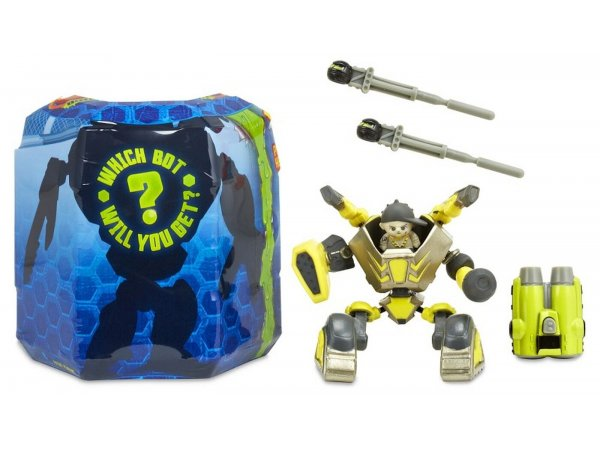 Игровой набор MGA Entertainment Ready2Robot Две капсулы - Крепыш и оружие 553885