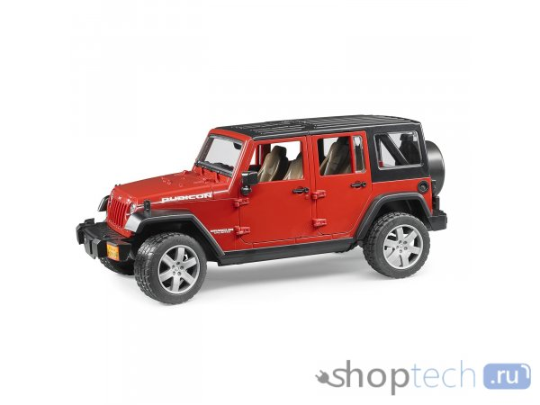 Внедорожник Bruder Jeep Wrangler Unlimited Rubicon (02-525) 1:16 31 см