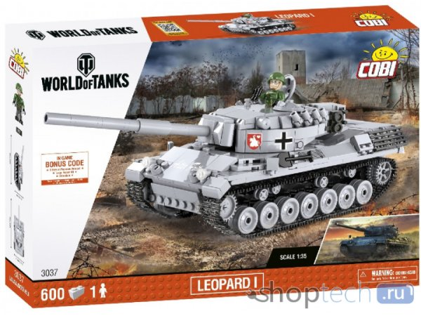 Конструктор Cobi World of Tanks 3037 Танк Leopard 1