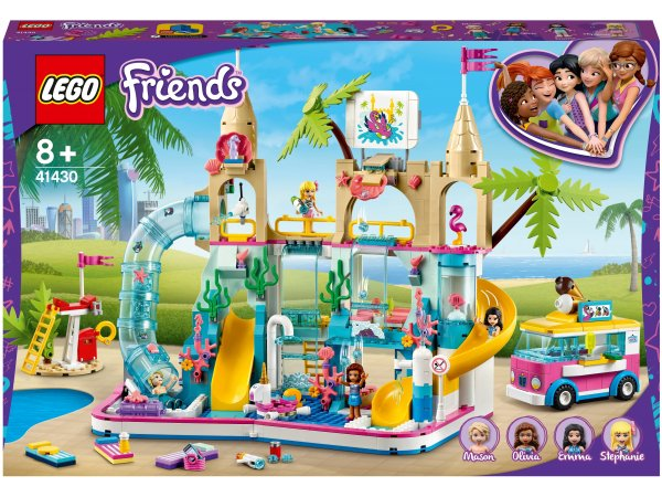 Конструктор LEGO Friends 41430 Летний аквапарк