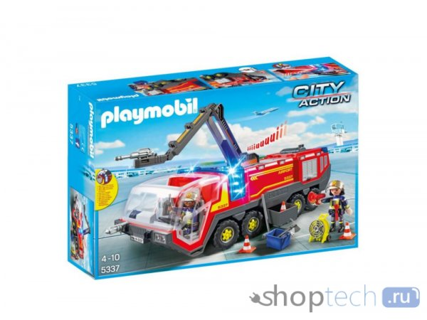 Конструктор Playmobil City Action 5337 Пожарная машина аэропорта