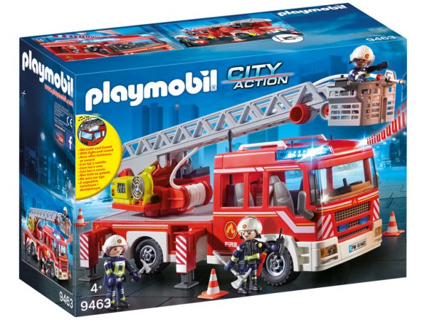 Конструктор Playmobil City Action 9463 Пожарная служба: Пожарная Лестница