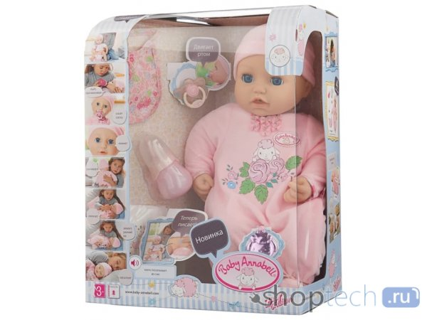 Кукла Zapf Creation Baby Annabell 794-821/794-401