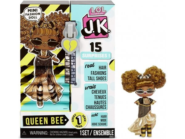 Кукла L.O.L. Surprise! J.K. Mini Fashion Doll - Queen Bee, 570783