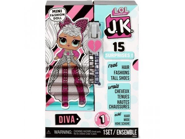 Кукла L.O.L. Surprise! J.K. Mini Fashion Doll- Diva, 570752