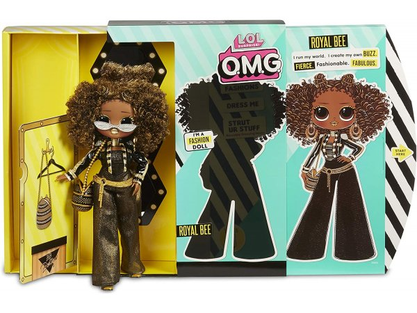 Кукла-сюрприз MGA Entertainment LOL Surprise OMG Fashion Royal Bee, 30 см, 560555