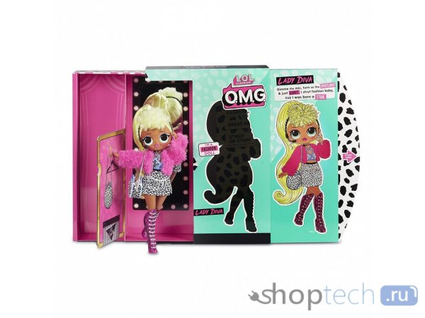 Кукла-сюрприз MGA Entertainment LOL Surprise OMG Fashion Lady Diva, 27 см, 560562
