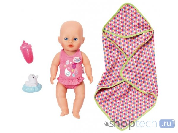 Кукла Zapf Creation Baby Born Для игры в воде 32 см 825-341