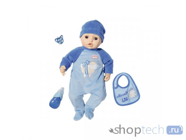 Интерактивный пупс Zapf Creation Baby Annabell Мальчик, 43 см, 701-898