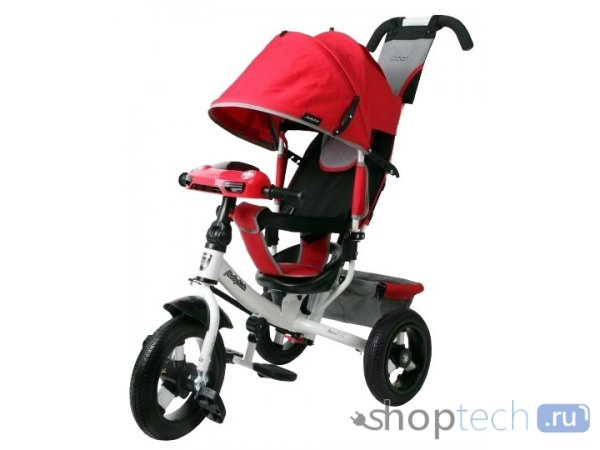 Велосипед Moby Kids Comfort 12x10 AIR Car 2 красный 641087