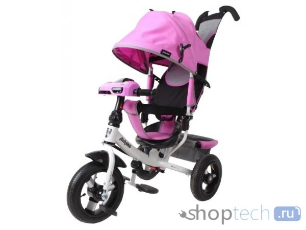 Велосипед Moby Kids Comfort 12x10 AIR Car 2 лиловый 641089