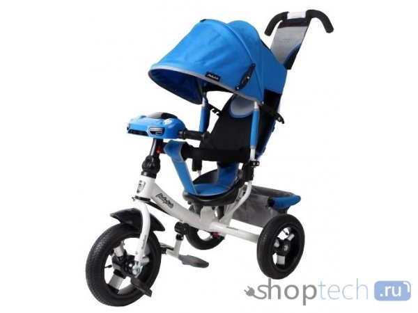 Велосипед Moby Kids Comfort 12x10 AIR Car 2 синий 641088
